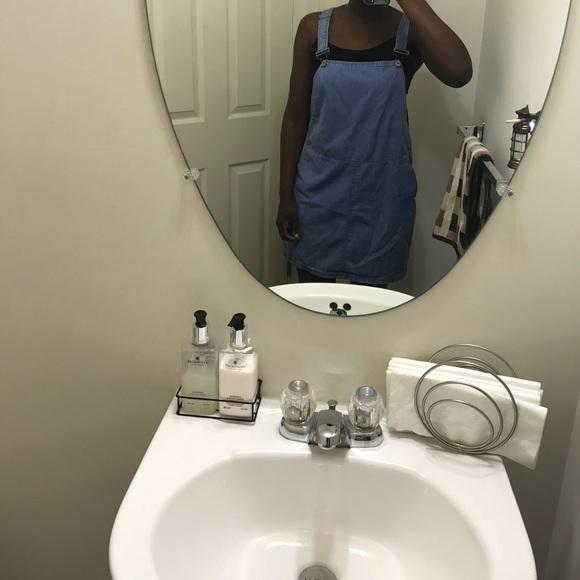New Look Dresses & Skirts - Denim overall dress